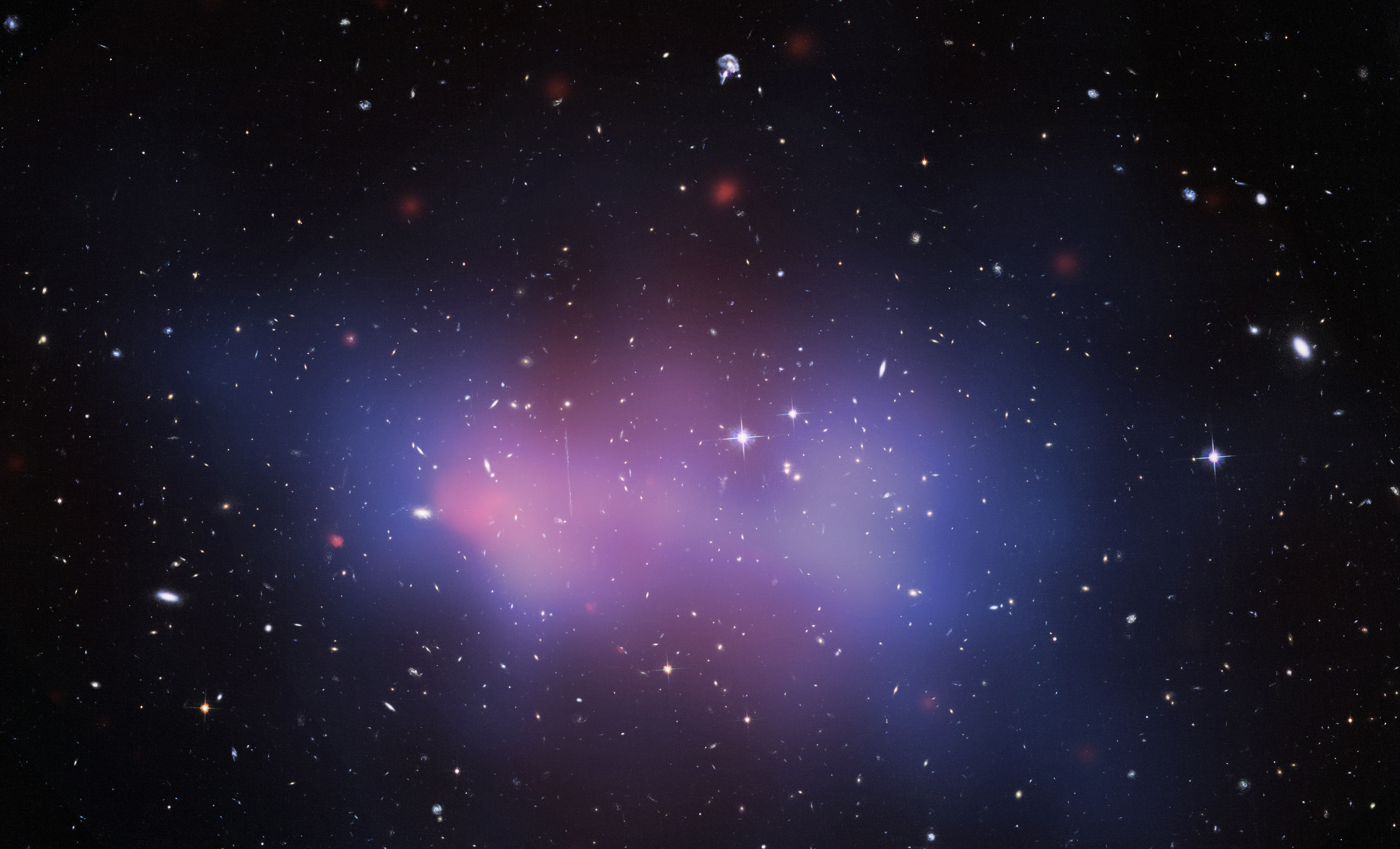 """This cluster has been nicknamed """"El Gordo"""" (or, """"the fat one"""" in Spanish) because of its gigantic mass."""
