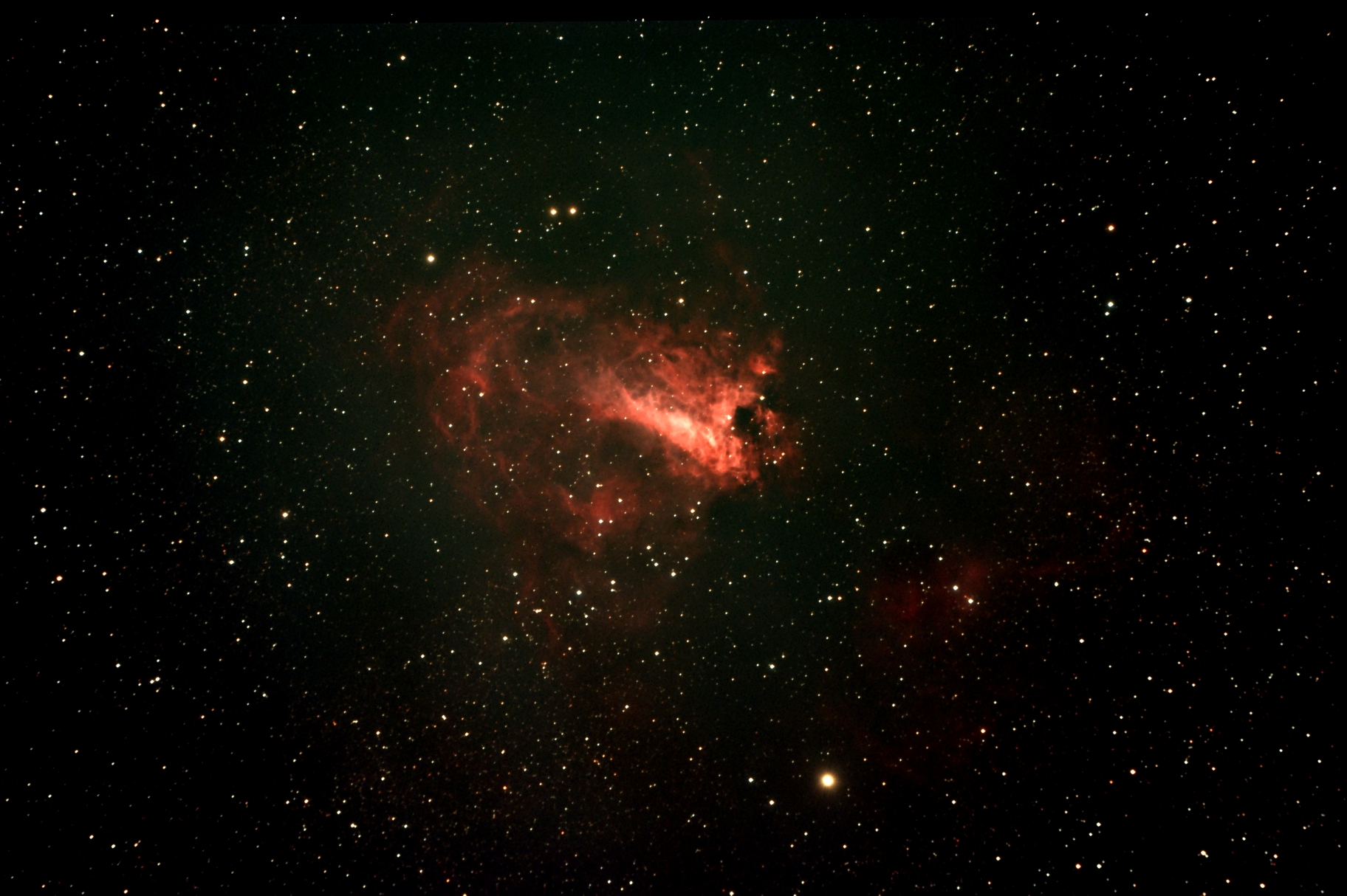 omega nebula nasa - photo #16