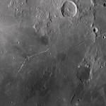 Crátero Hyginus de Jean Pierre Brahic