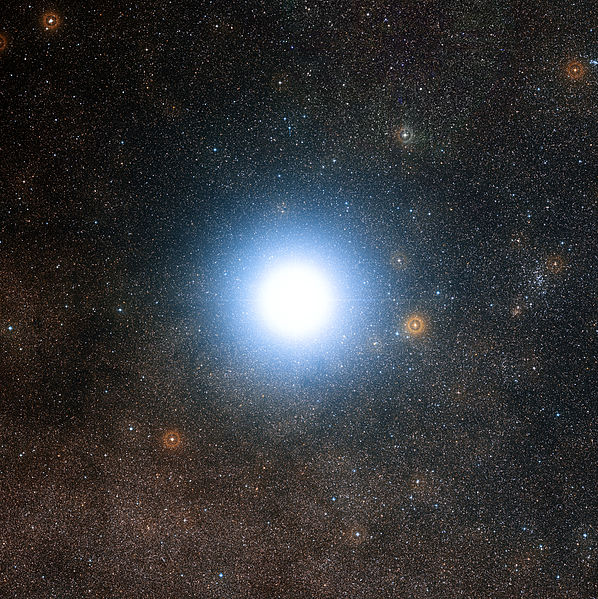 Alpha Centauri de Digitized Sky Survey 2