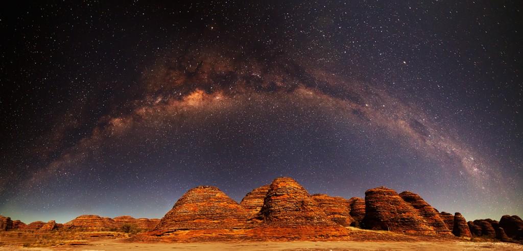Млечный Путь над Бангл-Бангл (Австралия)